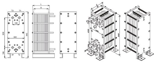 Теплообменник т 2 надежность секционный теплообменник в разрезе